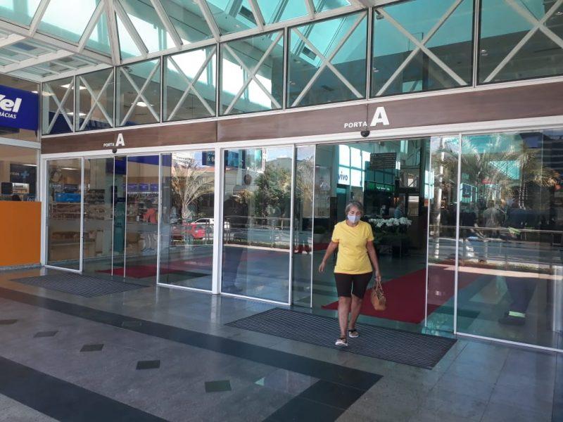 """Setor de shopping centers garante que cumpre rígidos protocolos e que seus ambientes não são """"contaminantes"""" – Foto: Talita Catie / ND"""