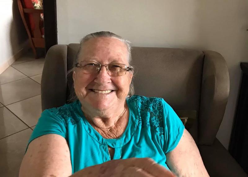 Silvina Kunz Loch, de 82 anos, foi a sexta morte em decorrência da Covid-19 registrada em Joinville. Silvana ficou mais de 20 dias internada no Hospital Bethesda, tratando bronquinte. Durante a internação, a idosa descobriu que sofria de câncer no pulmão. No dia 27 de abril, Loch foi transferida para o Hospital São José, também em Joinville. Loch não resistiu, e morreu no dia 2 de maio. Dois dias depois a idosa testou positivo para a Covid-19. Ela deixa filhos, netos e bisnetos. Confira a reportagem completa: https://bit.ly/2WaKvte - Arquivo Pessoal/Divulgação/ND