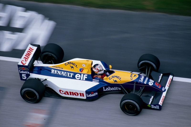 Williams FW14 (1991) - Foto: Divulgação - Foto: Divulgação/Garagem 360/ND