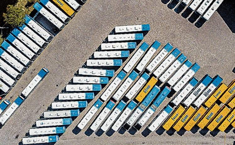 Transporte coletivo está parado desde março em Florianópolis – Foto: Anderson Coelho/ND