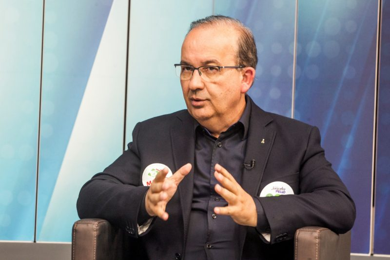 Jorginho Mello (PL), senador e também ex-candidato ao governo do Estado também vai falar ao jornalista Paulo Alceu, logo na sequência da semana. – Foto: Marco Santiago/ND