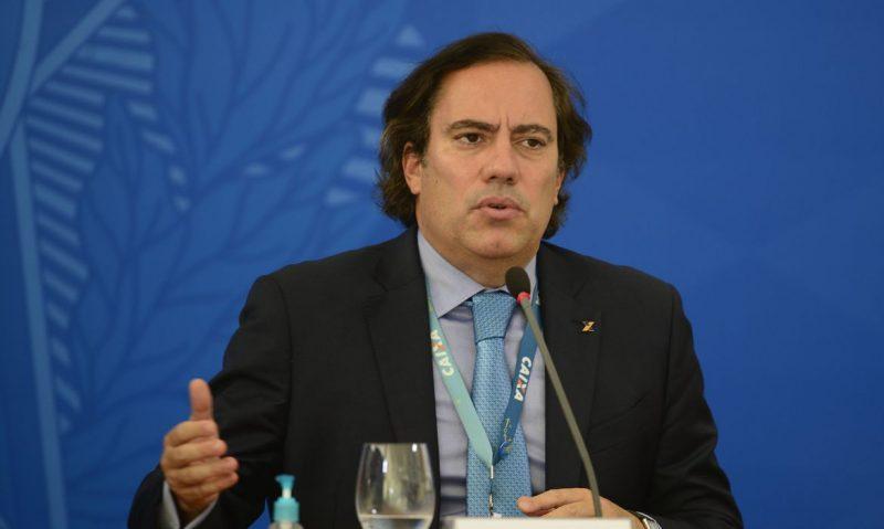 Presidente da Caixa, Pedro Guimarães anunciou que está com Covid-19 – Foto: Marcello Casal Jr/Agência Brasil/ND