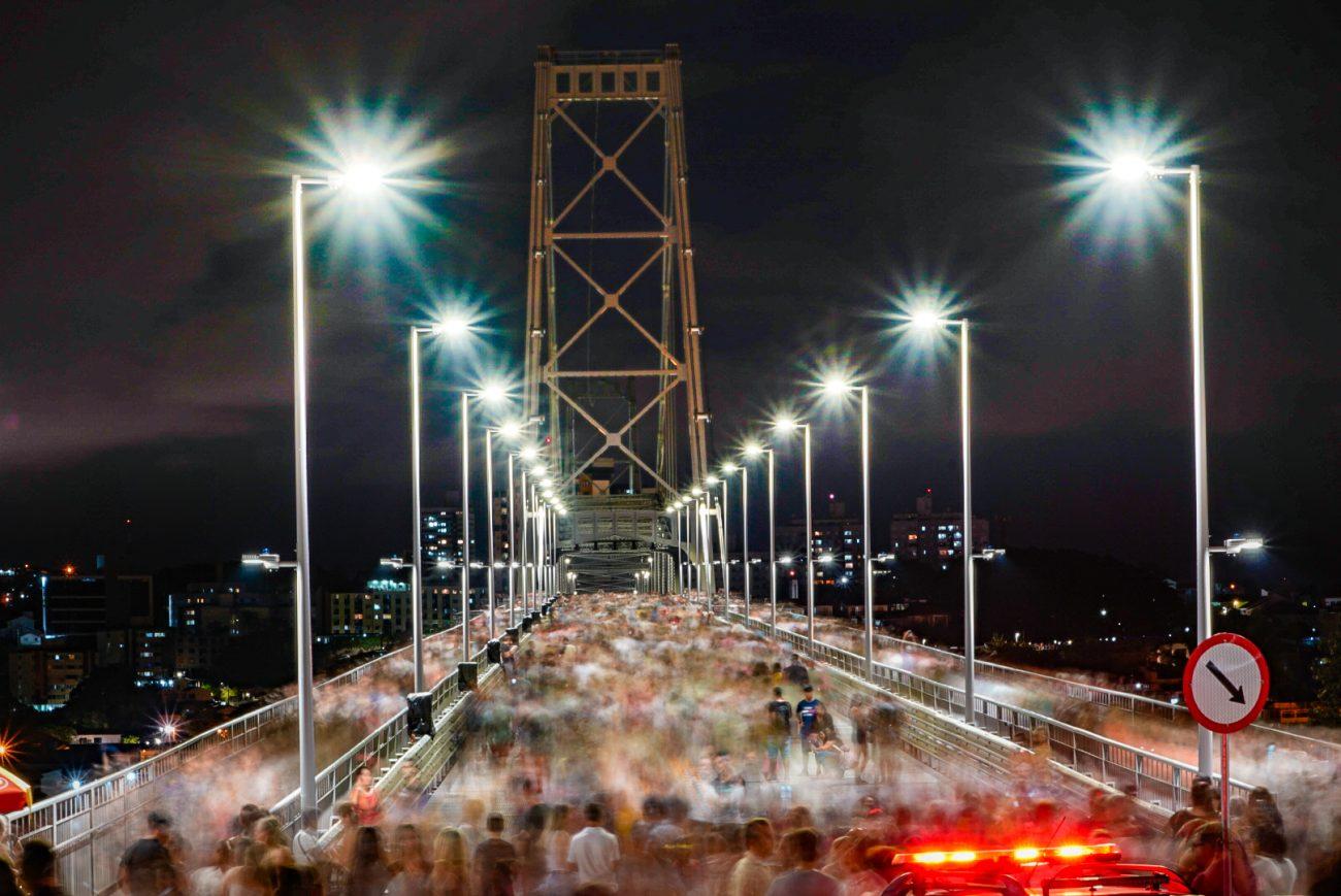 No início de 2019, o Governo de Santa Catarina estabeleceu o dia 30 de dezembro como a data de reabertura ao tráfego, com a inauguração em março de 2020. - Ricardo Wolffenbuttel/Secom/ND