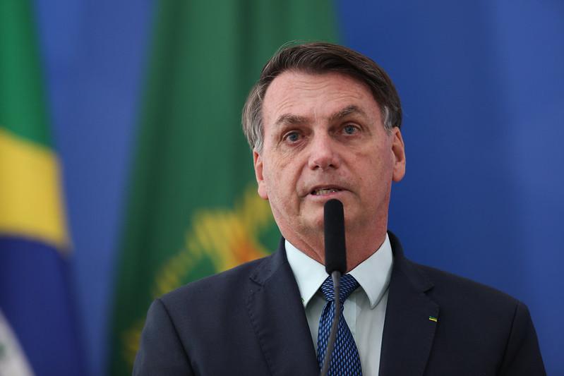 Presidente Jair Bolsonaro foi membro da Brigada de Infantaria Paraquedista em sua carreira no exército – Foto: Júlio Nascimento/PR