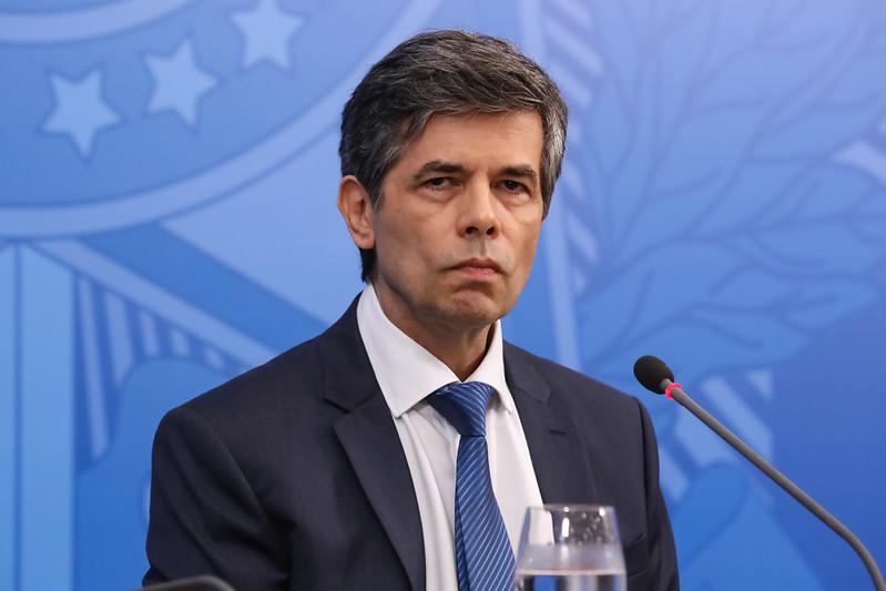 Ministro Nelson Teich participou de reunião com a Câmara dos Deputados nesta quinta (7) – Foto: José Dias/PR/Arquivo/ND