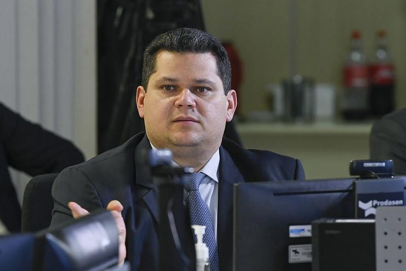 Presidente do Senado, Davi Alcolumbre, decidiu adiar votação da PL das fake news – Foto: Jefferson Rudy/Agência Senado/ND
