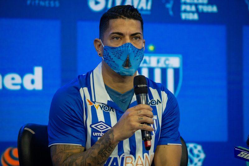 Ralf chegou com status de uma das principais contratações para a temporada – Foto: André Palma Ribeiro/Divulgação Avaí/ND