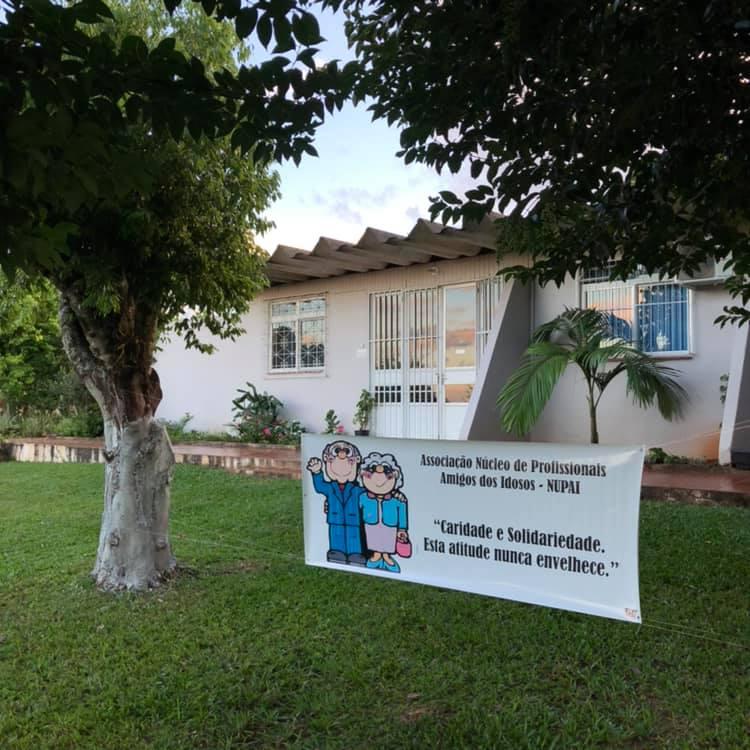 Casa de cuidados Nupai, em Palmitos – Foto: Reprodução/Redes Sociais