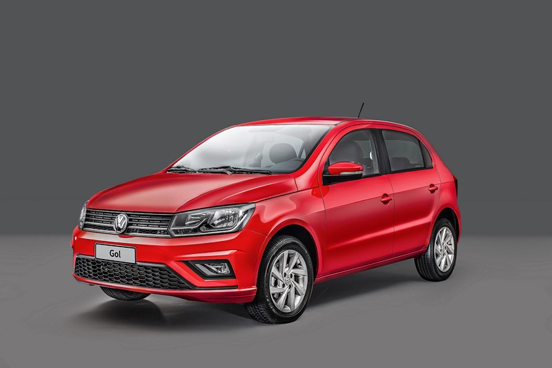 7º- Volkswagen Gol: 1.648 unidades - Foto: Divulgação/VW/Garagem 360/ND
