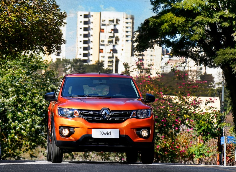 9º- Renault Kwid: 1.622 unidades - Foto: Divulgação/Renault/Garagem 360/ND