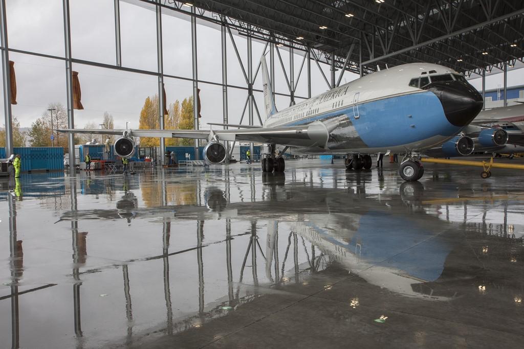 Air Force One (Boeing 707) - Divulgação/The Museum of Flight - Divulgação/The Museum of Flight/Rota de Férias/ND