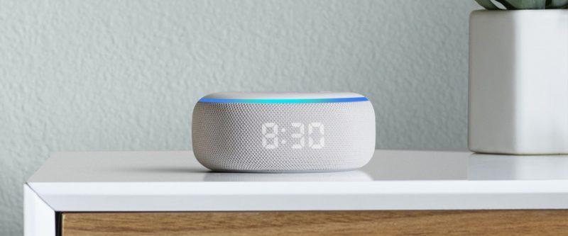 Amazon lança no Brasil Echo Dot com relógio LED e Alexa - Divulgação/Amazon