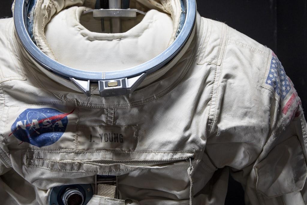 Traje espacial da missão Apollo 10 - Divulgação/The Museum of Flight - Divulgação/The Museum of Flight/Rota de Férias/ND
