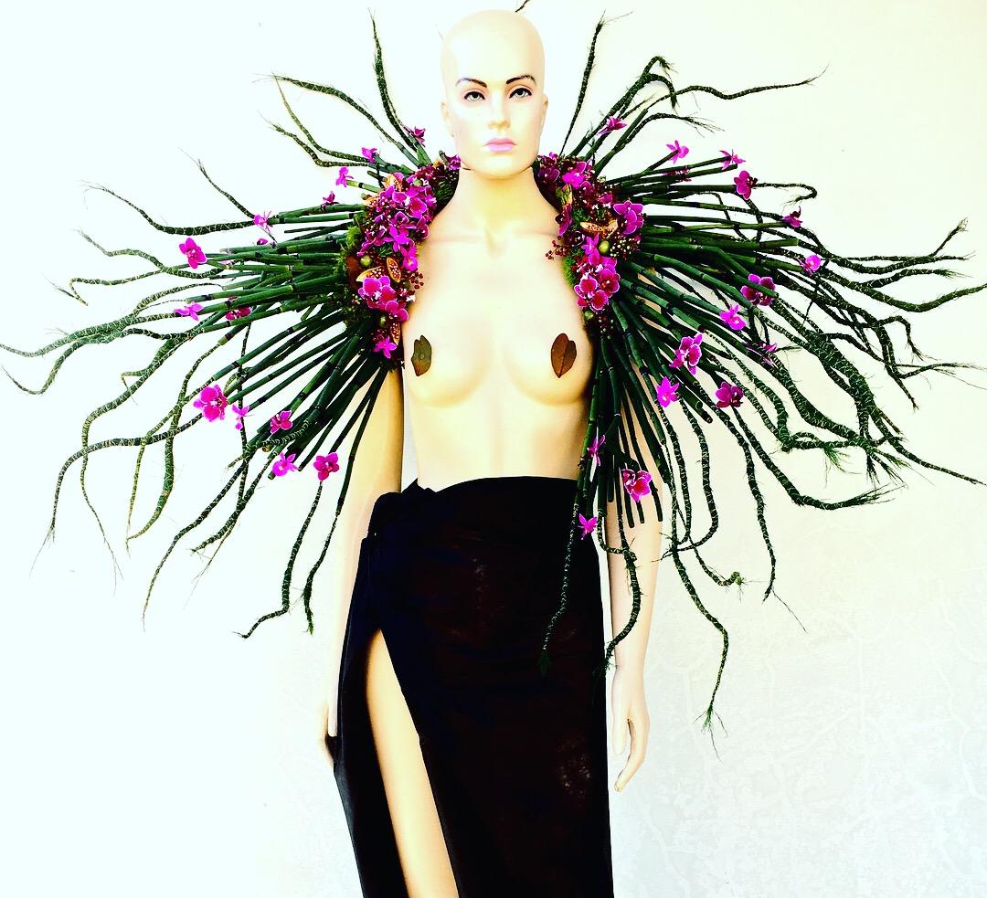 Arte floral de Juliana Hames - Divulgação/ND