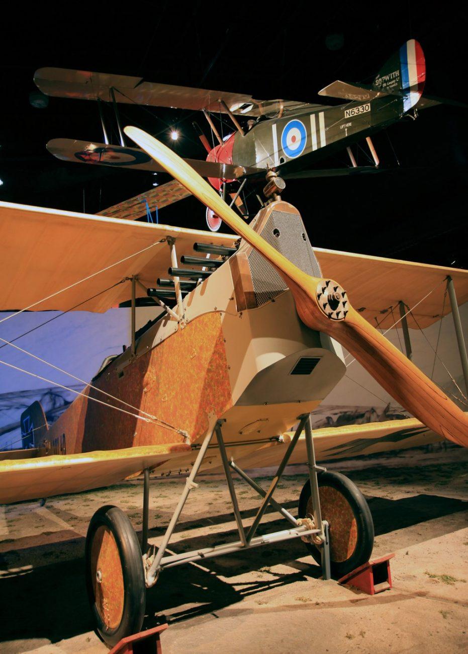 Aviatik D1 - Divulgação/The Museum of Flight - Divulgação/The Museum of Flight/Rota de Férias/ND
