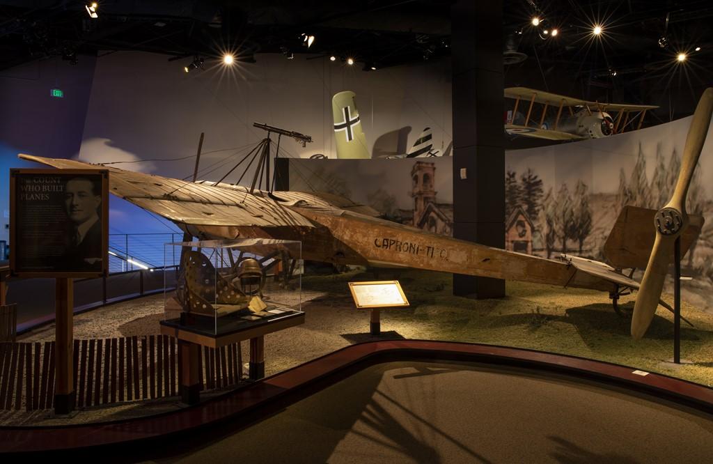 Caproni Ca.20 - Divulgação/The Museum of Flight - Divulgação/The Museum of Flight/Rota de Férias/ND