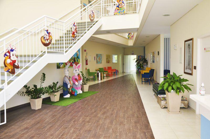 Casa de Apoio Vovó Gertrudes, mantida pela Avos (Associação de Voluntário de Saúde do Hospital Infantil Joana de Gusmão) – Foto: Divulgação/ND