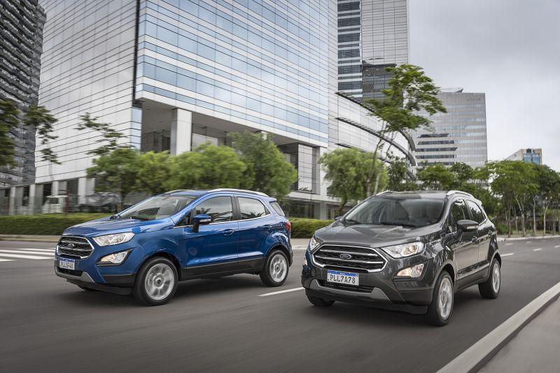 Promoção dá até R$ 14 mil de desconto na linha EcoSport - Foto: Divulgação/Ford