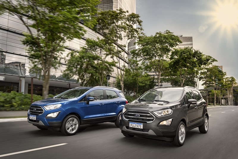 Ford EcoSport ganha novidades na linha 2020 - Foto: Divulgação/Garagem 360/ND