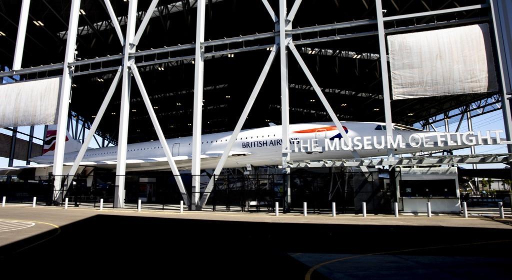 Concorde - Divulgação/The Museum of Flight - Divulgação/The Museum of Flight/Rota de Férias/ND