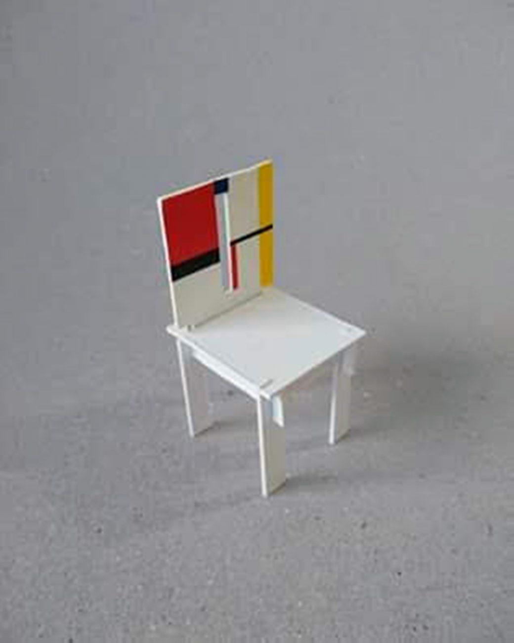 Cadeira em miniatura de Gustavo Ramos - Divulgação/ND