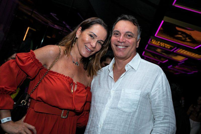 Lise Crippa e Paulo Mendes no alto astral de sempre – Foto: Adriel Douglas/Divulgação/ND
