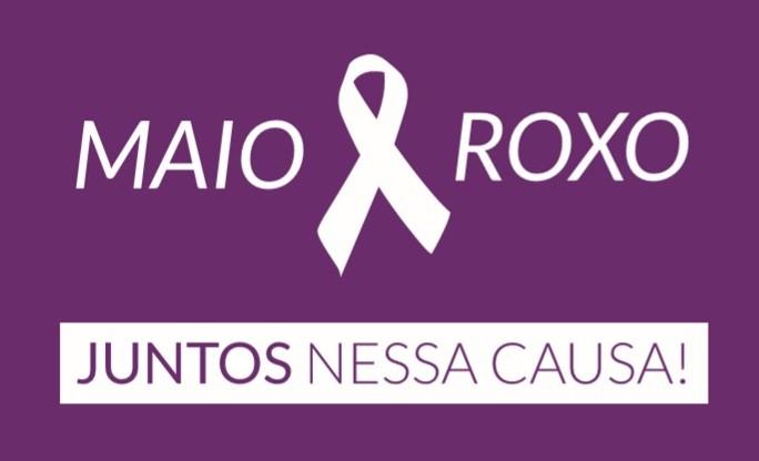 Campanha Maio Roxo alerta para doenças inflamatórias intestinais – Foto: Arte/Divulgação