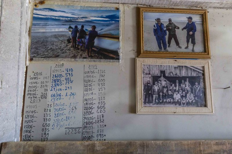 Rancho FADA, localizado na praia do Campeche, em Florianópolis - Anderson Coelho/ND