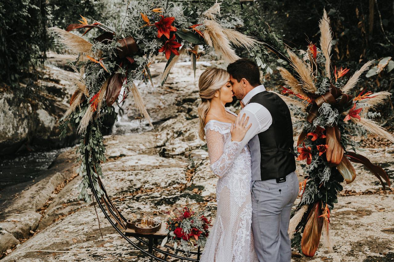 Elopement wedding realizado em São Pedro de Alcântara - Bruno Messina