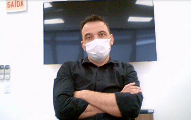 Em seu depoimento, Zeferino afirmou diversas vezes ter sido pressionado por Borba para acelerar processos de compra na saúde – Foto: Reprodução/ND