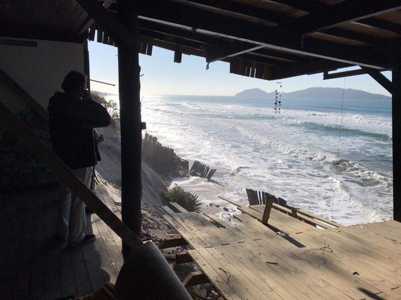 Santa Catarina tem riscos de alagamentos entre esta sexta (7) e sábado (8) – Foto: Anderson Coelho/Arquivo/ND