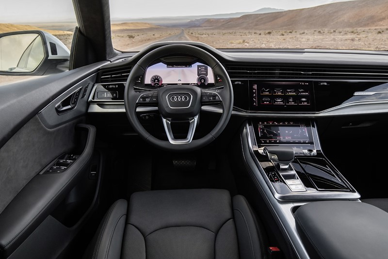 Audi Q8 - Foto: Divulgação/Audi/Garagem 360/ND