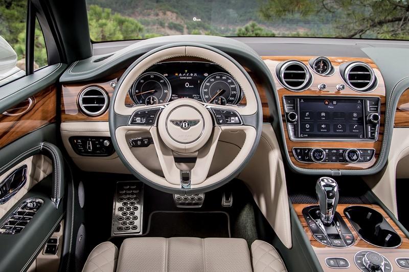 Bentley Bentayga - Foto: Divulgação/Bentley /Garagem 360/ND