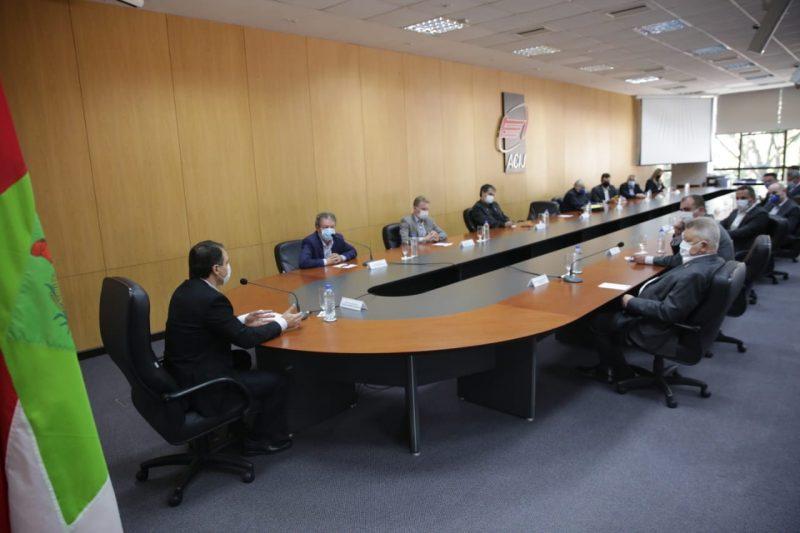 Reunião aconteceu na manhã desta quarta-feira (27), na Acij – Foto: Carlos Junior/ACIJ