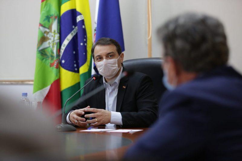 Estiveram presentes na reunião lideranças empresariais e prefeitos da região Norte – Foto: Carlos Junior/ACIJ