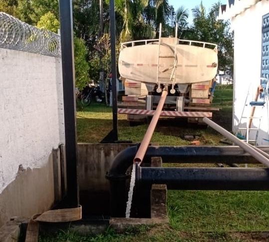Samae está transportando água em caminhões pipa – Foto: Divulgação/ND