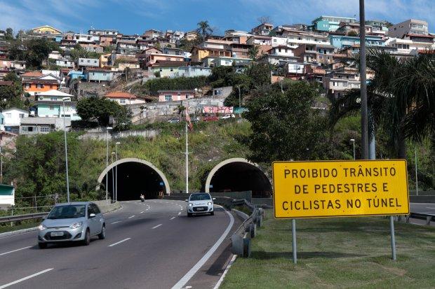 Túnel passará por manutenções – Foto: Governo Estadual/Divulgação/ND