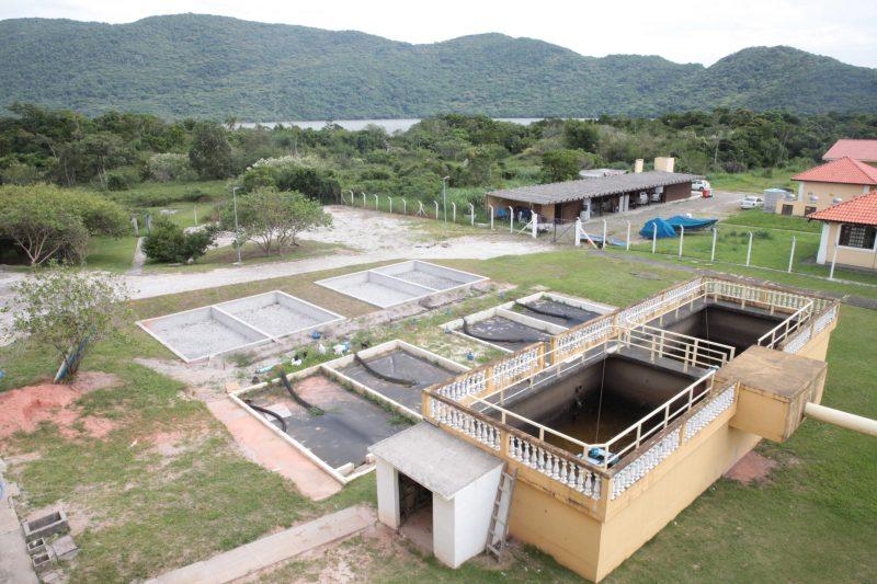 Casan vai realizar serviço de manutenção na Estação de Tratamento da Lagoa do Peri – Foto: Fábio Queiroz / Agência AL/ND