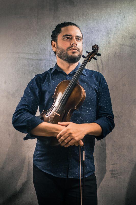 Gabriel também ganhou prêmio de melhor instrumentista no Festival de Música de Avaré, SP, – Foto: Arquivo pessoal/Divulgação ND