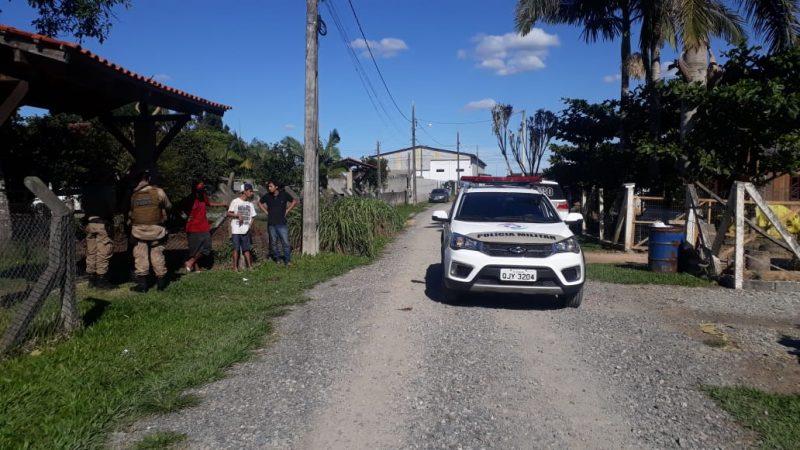 Crime aconteceu neste domingo (24), no bairro Areias Pequenas – Foto: Polícia Militar/Divulgação