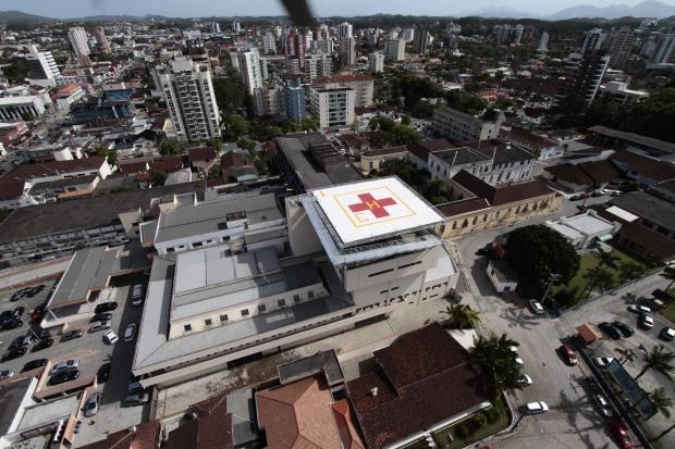 Hospital terá abertura de novos leitos para tratamento da doença nos próximos dias – Foto: Divulgação/Prefeitura Municipal de Joinville/ND