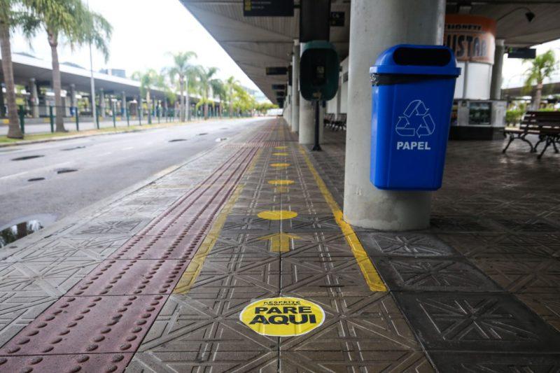 Transporte coletivo volta no dia 18 em Florianópolis com regras rígidas para garantir segurança de passageiros e trabalhadores – Foto: Anderson Coelho/ND