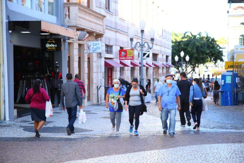 A capital, Florianópolis, possui 697 casos confirmados, sendo a 3ª cidade no ranking de confirmações – Foto: Leonardo Sousa/Divulgação/PMF