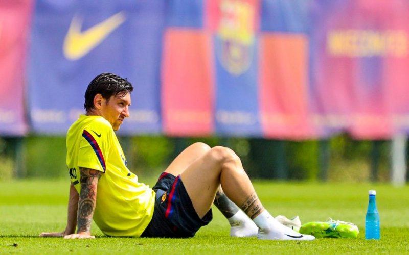 O Messi dos tempos atuais do Barcelona – Foto: Reprodução/Twitter