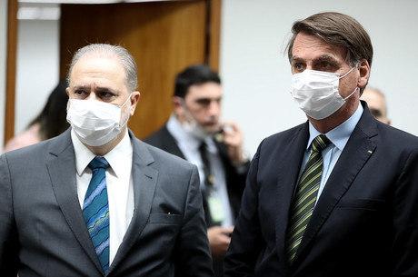 Aras recebe pedido de investigação contra Eduardo Bolsonaro por 'subversão' – Foto: Divulgação/Palácio do Planalto