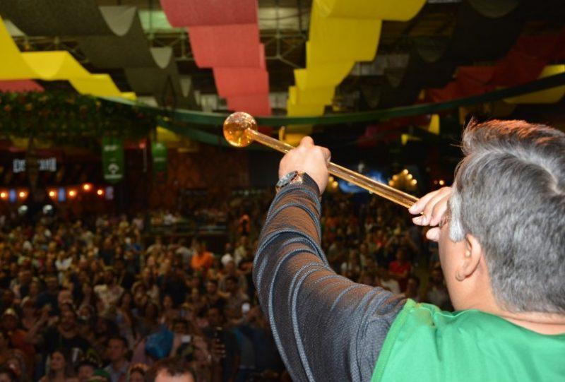 Evento reúne mais de meio milhão de pessoas na Vila Germânica – Foto: Michele Lamin/PMB/Divulgação/ND