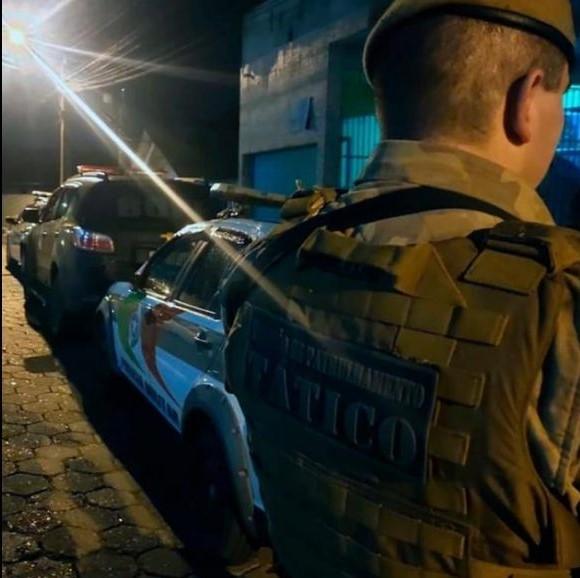 Prisão aconteceu após cerca de 35 horas de buscas – Foto: Polícia Militar/Divulgação