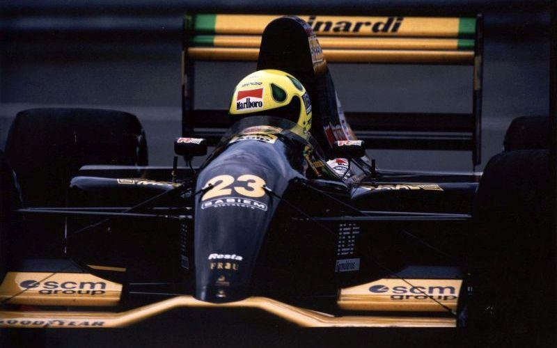 A Minardi foi a equipe que o piloto guiou em seu primeiro ano de F1 - Foto: Divulgação/Acervo Pessoal/Garagem 360/ND