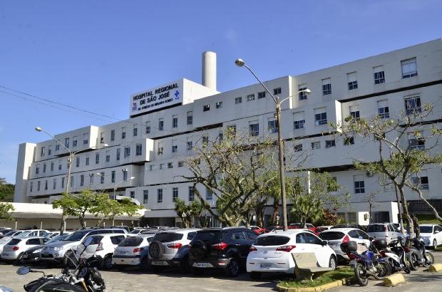 Emergência pediátrica do Hospital Regional de São José será fechada temporariamente – Foto: Secom/Divulgação/ND