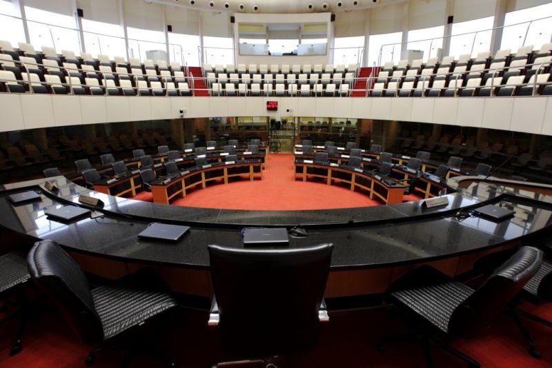 Assembleia Legislativa de Santa Catarina, onde decisões são tomadas e para onde o olhar dos colunistas do ND também estão voltados – Foto: Divulgação/Alesc